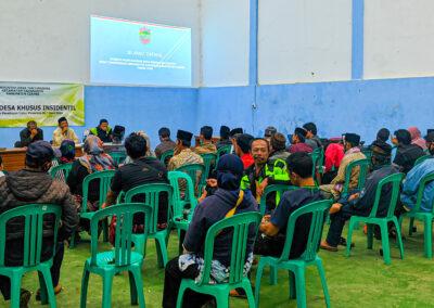 Musyawarah Desa Khusus BLT Desa bulan Ke-4,5 dan 6
