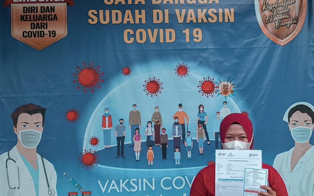 Pemdes Tanjungsari terima Vaksin COVID-19 Tahap I